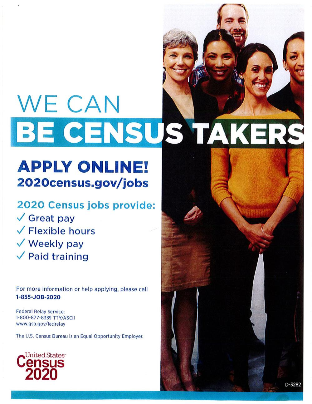 Census 2020 Job Flyer